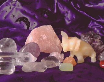 Crystal Energy Photograph by Nicolette Olivier Art Print Poster
