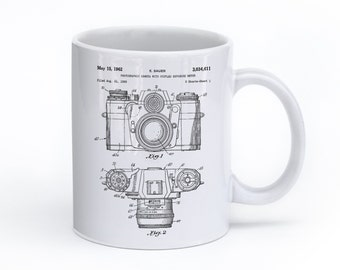 Camera Mug, Photography Coffee Mug, Camera Coffee Mug, Photographer Mug, PP0006