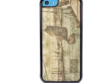 iPhone 5 5s 6 6s 6+ 6s+ SE 7 7+ iPod Touch 5 6 Phone Case, Sailboat Design, Sailing, Sail Boat, Nautical, Plus