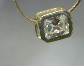 Crystal Pendant with 925 Chain