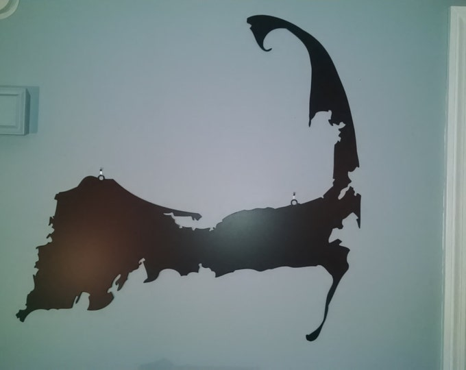 Cape Cod Wall Art - Metal Silhouette