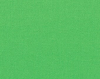 Half Yard Bella Solids - Kiwi Green - Cotton Quilt Fabric - from Moda Fabrics - 9900-189 (W2291)