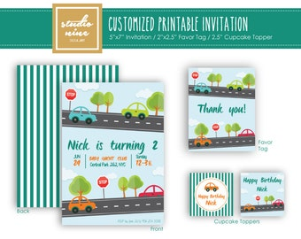 Printable Customized Invitation - Baby Shower