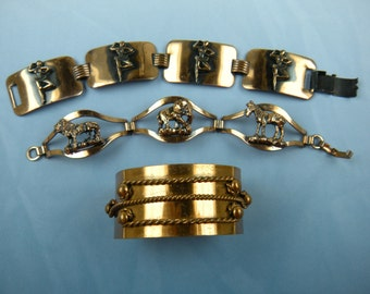 Lot of Copper Bracelets from the 1960's