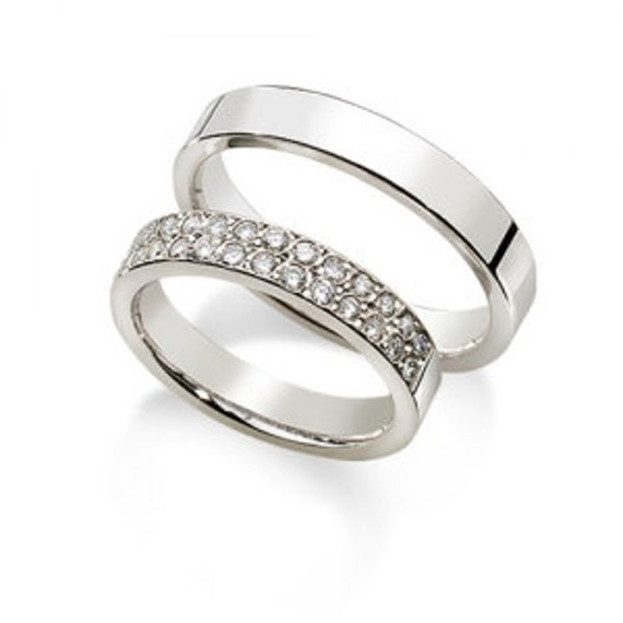 Sorry, this item sold. Have CouplesWeddingRings make something just ...