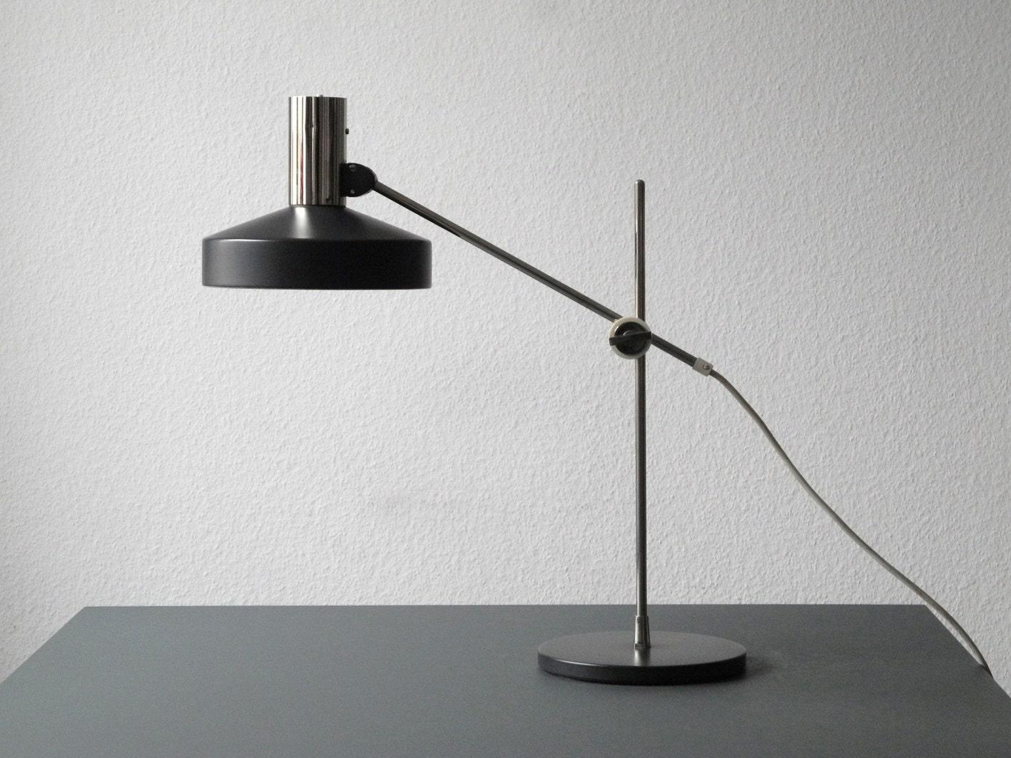 original rare 60s kaiser leuchten table desk night lamp light. Black Bedroom Furniture Sets. Home Design Ideas