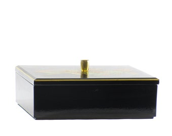 Black Lacquered Otagiri Box *FREE SHIPPING*