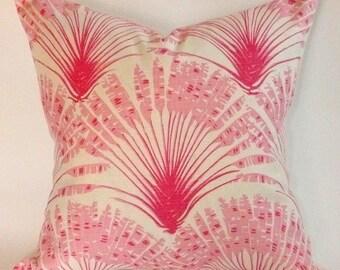 Brisa PIllow Cover in Hot Pink