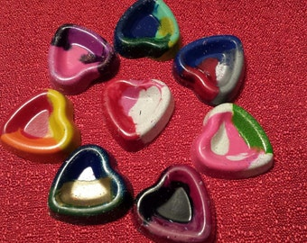 Heart Shaped Multi Color Crayons