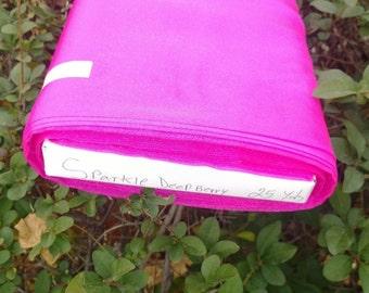 "Sparkle Organza Fabric - Deep Berry, 45"" x 1 Yard"