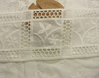 1yard Cotton Eyelet Lace Trim #310
