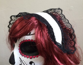 gothic lolita cosplay maid headband