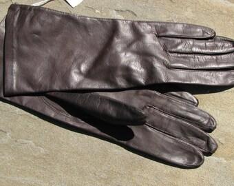 Vintage Leather Gloves - Fine Leather Gloves - Leather Gloves