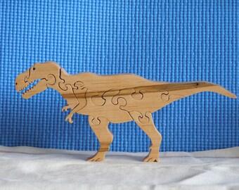Wooden T-Rex Puzzle