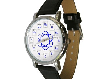 Atomic numbers watch. Great watch showing periodic numbers