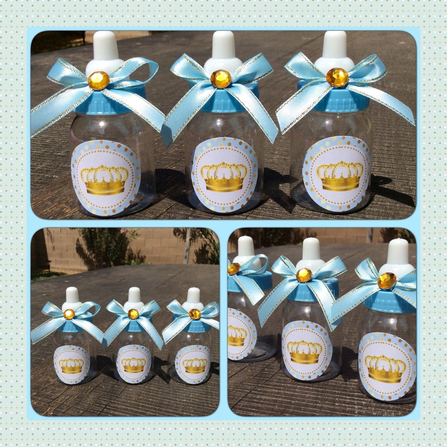 12 little prince baby shower favors little by marshmallowfavors