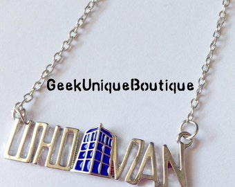 """Doctor Who """"Whovian"""" necklace, brand new"""