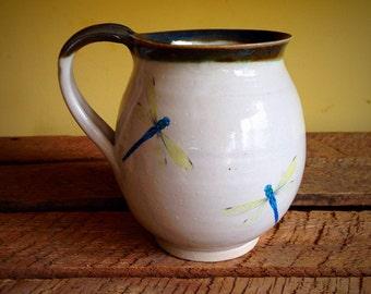 Pottery cup mug