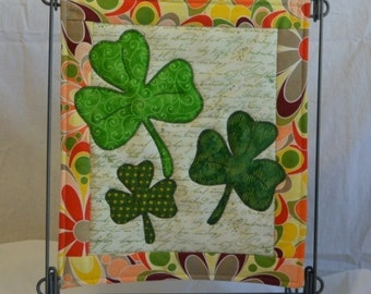 Lookin' For Luck, St. Patrick's Day Holiday Mini PDF Quilt Pattern  - PDF PATTERN