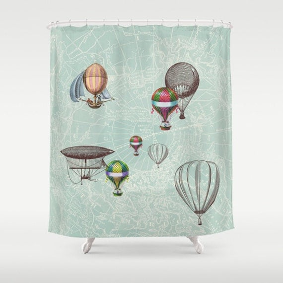 Tan And Grey Curtains Aluminium Shower Curtain