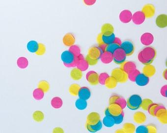 Tissue Paper Confetti - Neon - Petite Party Studio