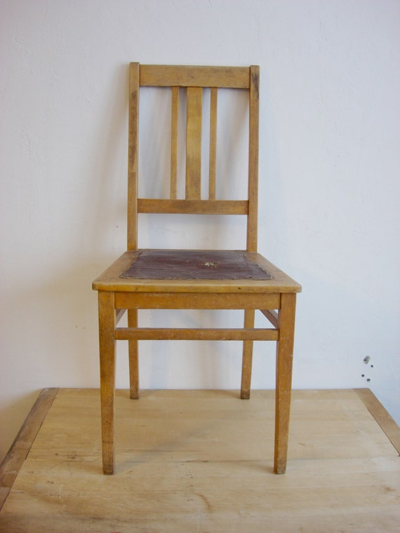 antique wooden chair 1940s oak dining room furniture requisite