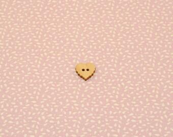 Tilda Fabric - Leaves & Berries Pink - Metric Fat Quarter (FQ)