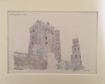 Blarney Castle, Co.Cork, Ireland Print
