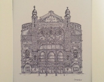 The Grand Opera House Belfast Print