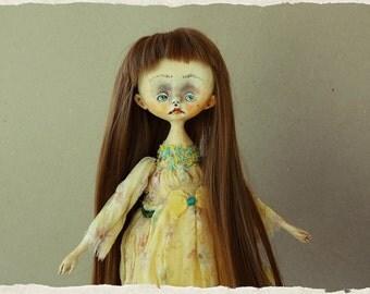"OOAK Art doll ""Gabriela''"