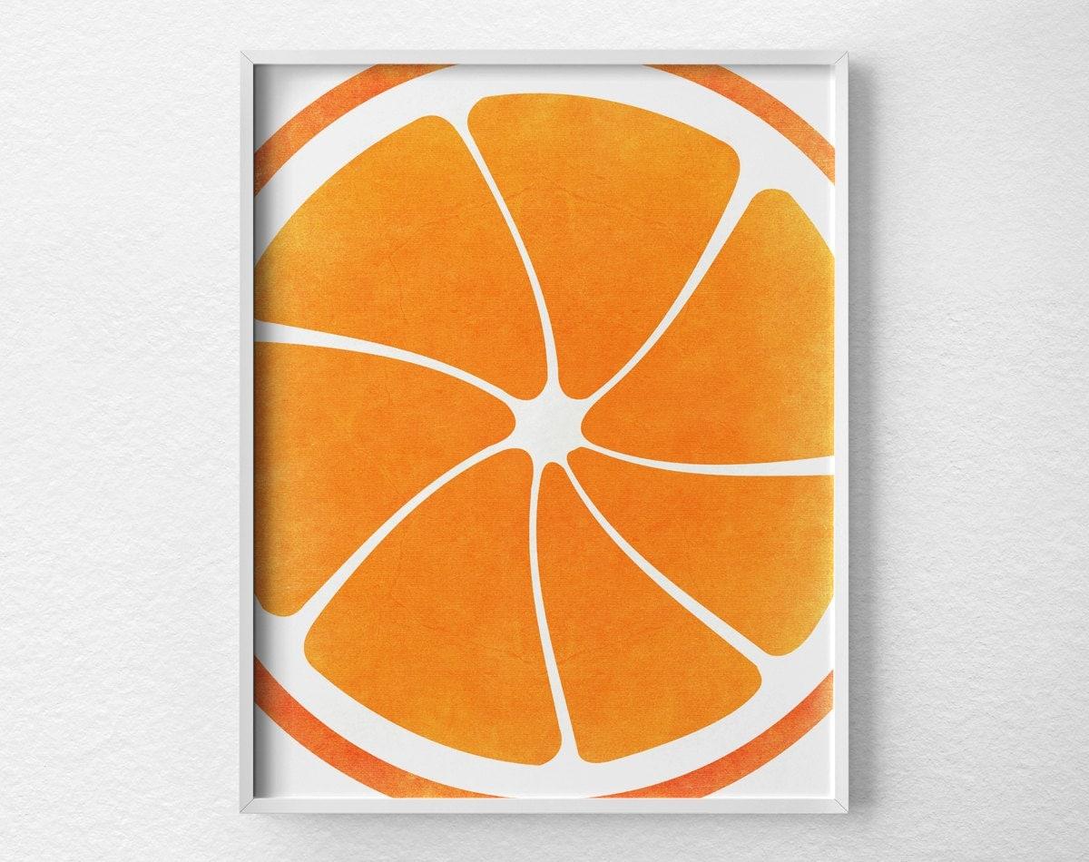 Citrus Kitchen Decor