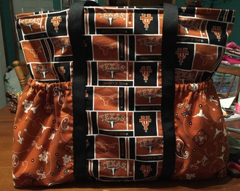 Texas Longhorn diaper bag