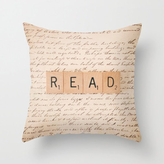 Bookaholic Throw Pillow