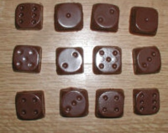 Dice Chocolate Mold