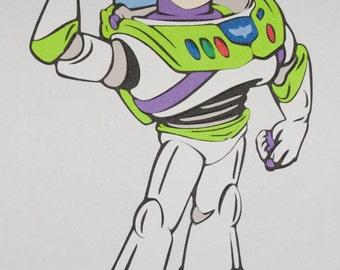 Buzz Lightyear Die Cut - Pixar's Toy Story