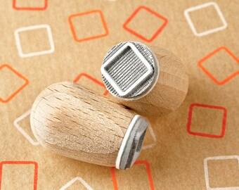 Square round corners - mini stamp Ø 1,4 cm