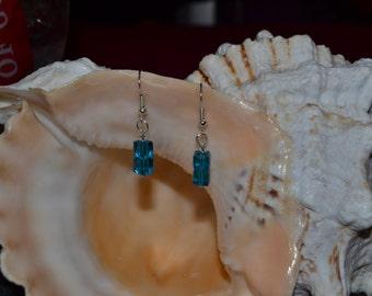 TARDIS Swarovski elements earrings
