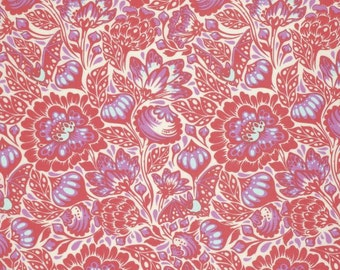 1/2 Yard - Elizabeth - Bats in the Belfry - Plum - Tula Pink - FreeSpirit - Fabric Yardage - PWTP064.PLUMX