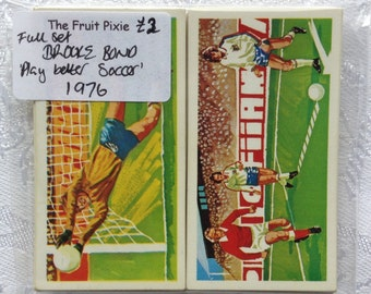 1976 '40 ways to Play better Soccer' Brooke Bond Tea Cards, Full Set