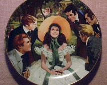 Scarlett and Her Suitors, Gone With the Wind Plate