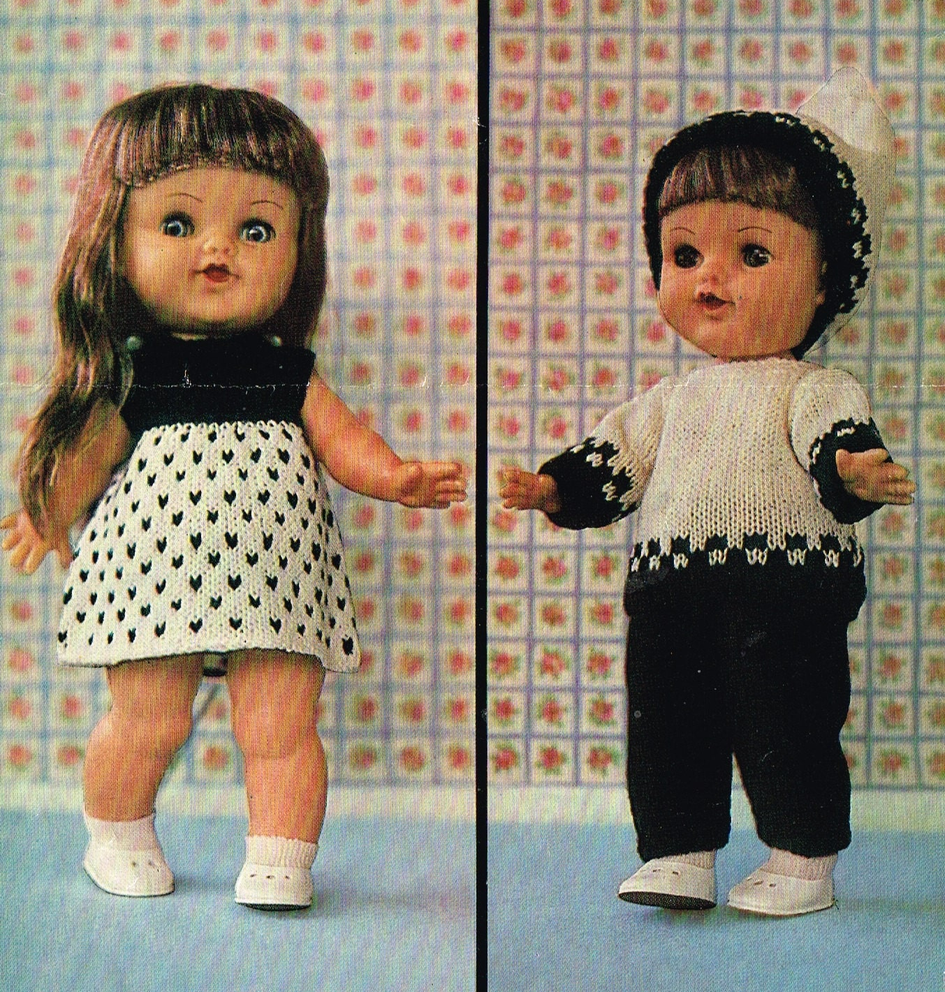 Downloadable Baby Doll Knitting Patterns : Dolls clothes for an 11 12 Baby doll Knitting
