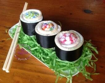 Nappy & Washcloth Sushi