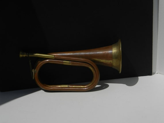 Vintage Decorative Bugle Horn Copper And By PTMileHighRecovery