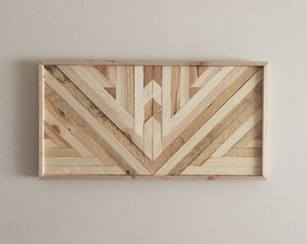 Reclaimed Natural Wood Wall Art