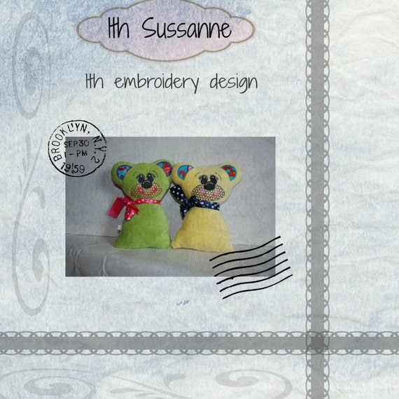 Sussanne embroidery digital file