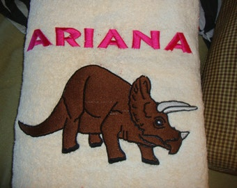 Embroidery Bath Towels