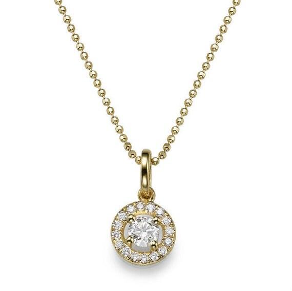 Diamond Necklace Wedding Gift : ... Necklace, Art Deco Diamond Pendant, Anniversary Gift, Wedding Jewelry