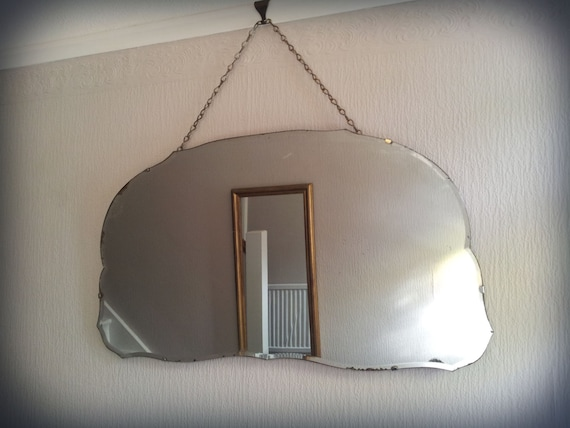 Miroir biseaut vintage for Argenture miroir