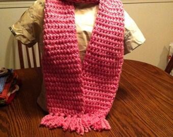 Bubble Gum Pink Scarf