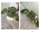 Starwars  Crochet Yoda Coffee Cozie Tea Sleeve